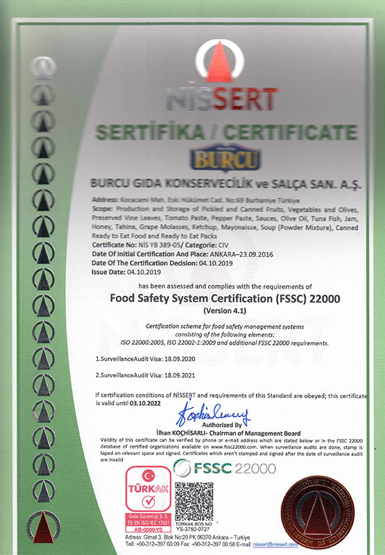 FSSC 22000 EN